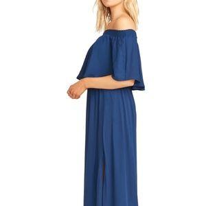 Show Me Your Mumu Hacienda Bridesmaid Dress - Navy